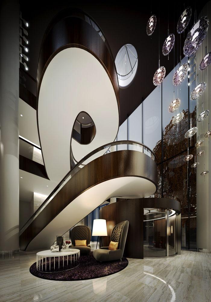 Hilton Saint Petersburg ExpoForum Hotel - Staircase