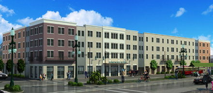 Rendering of the Homewood Suites by Hilton New Orleans