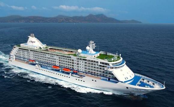 A Regent Seven Seas Cruises ship