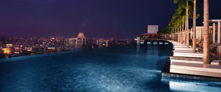 Marina Bay Sands Singapore - Pool
