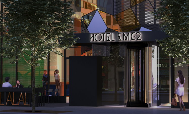 Hotel EMC2 Downtown Chicago - Entrance