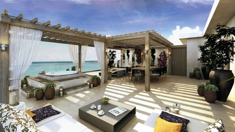 Le Blanc Spa Resort Los Cabos - Suite Rendering