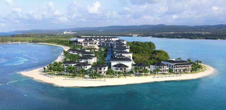 Rendering of the Excellence Oyster Bay Resort in Montego Bay, Jamaica