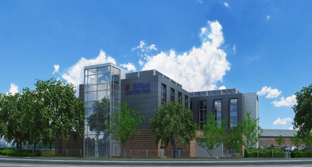 Rendering of the Hilton Garden Inn Abingdon Oxford