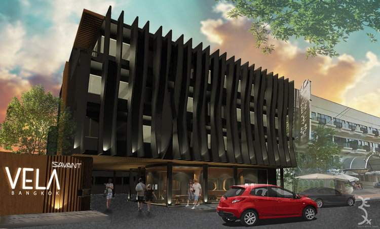 Rendering of the SAVANT Vela Hotel Bangkok