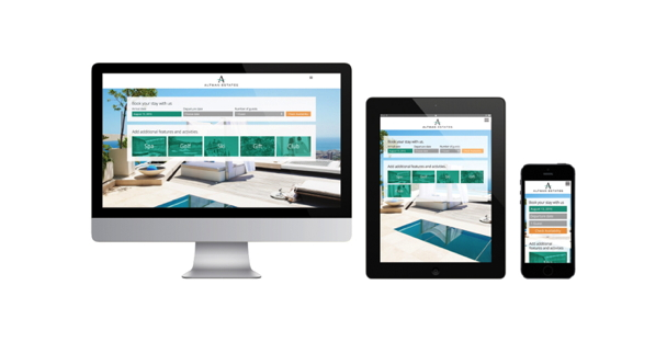 ResortSuite Web 3.0 on various devices