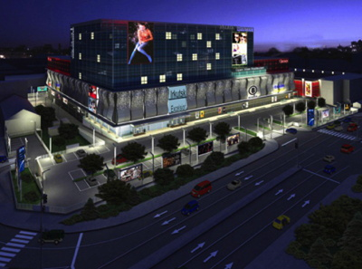 Rendering of the DoubleTree by Hilton Irkutsk Central Park Hotel