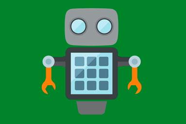 Illustration of a robot