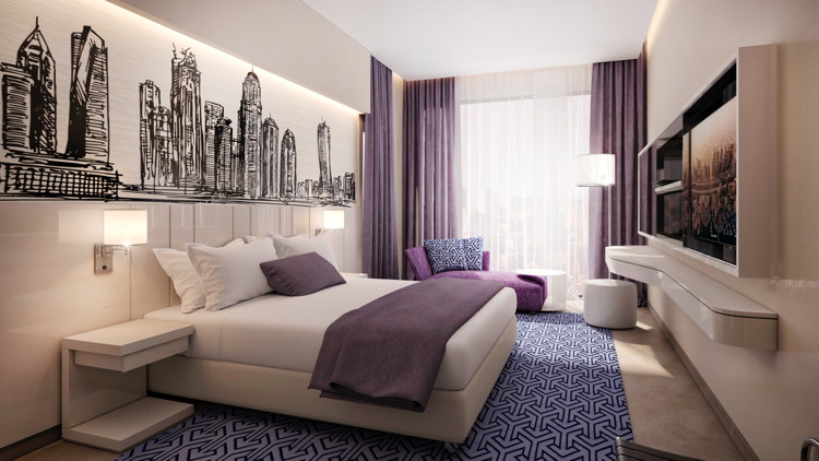 Suite at the Mercure Dubai Barsha Heights Hotel Suites & Apartments
