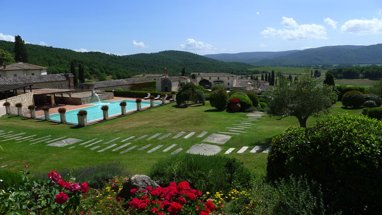 La Bagnaia Golf & Spa Resort Siena in Tuscany