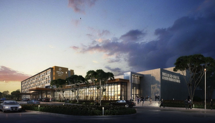 Rendering of the Delta by Marriott Hotel And Watters Creek Convention Center