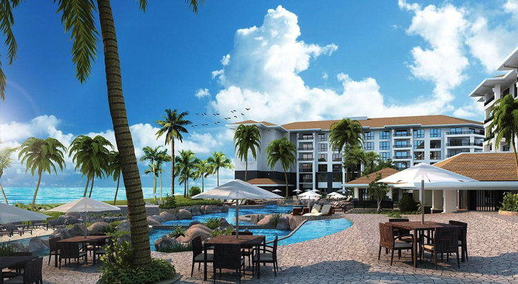 Rendering of the The Westin Nanea Ocean Villas Resort in Hawaii