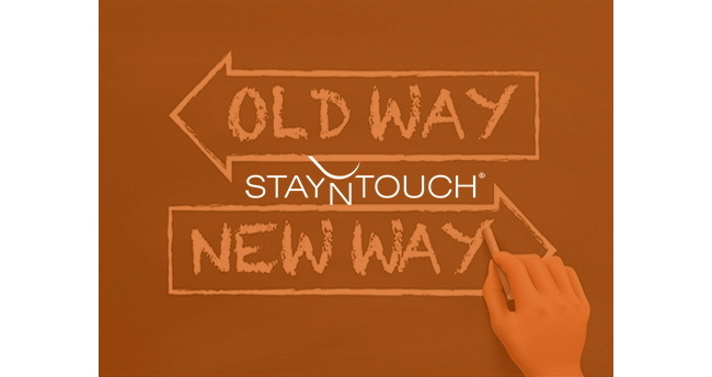 The words Old Way and New Way