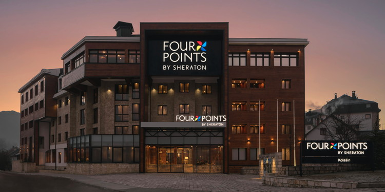 Rendering of the Four Points Kolašin Hotel