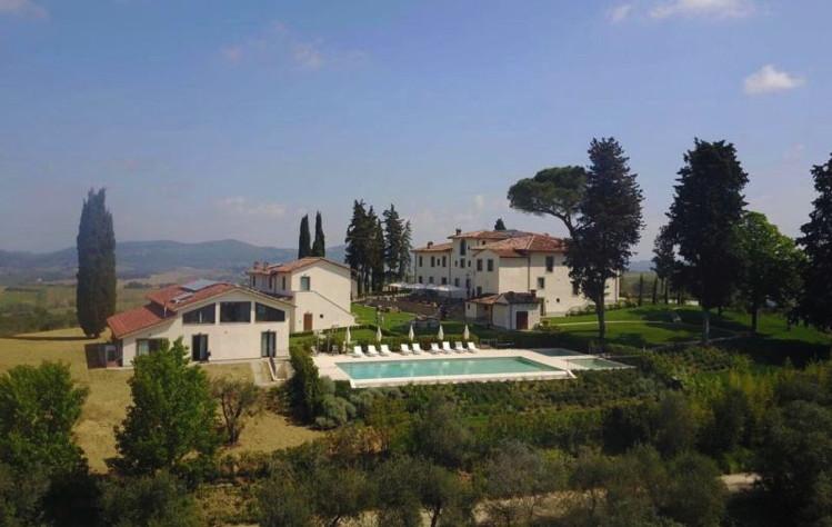 Villa Le Calvane Boutique Hotel & Winery - Aerial View