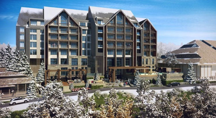 Rendering of the Viceroy Kopaonik Serbia