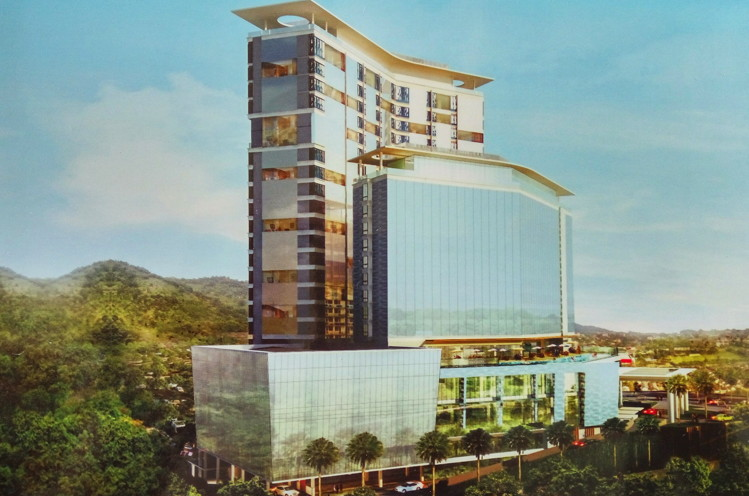 Rendering of the Best Western Premier Panbil Hotel