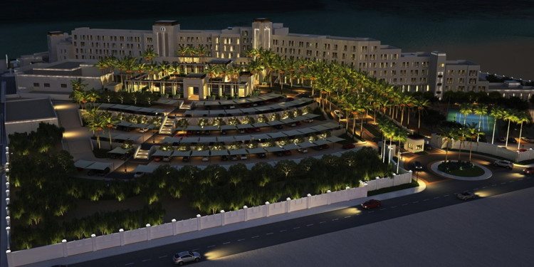 Rendering of the The InterContinental Fujairah Resort