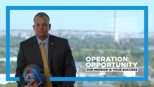 Promotional image for Hilton's Operation: Opportunity program