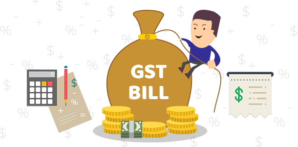 Illustration - GST concept