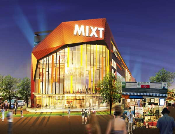 Rendering of the Mixt Chatuchak