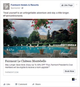 Facebook Dynamic Ads for Travel Screenshot
