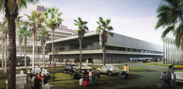 Renderings for Second Cruise Terminal at Port of Barcelona