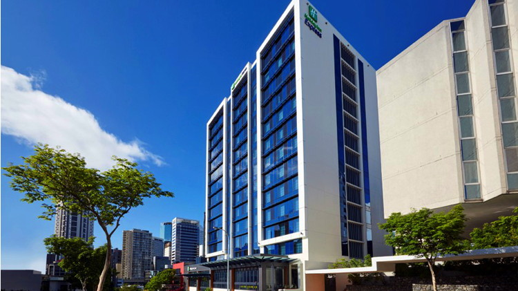 Holiday Inn Express Brisbane Central Hotel - Exterior