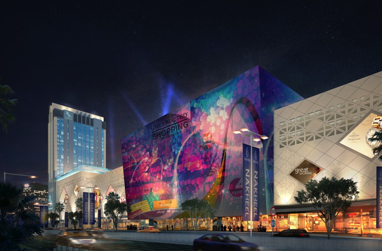 Rendering of the DoubleTree by Hilton Nakheel Al Khail Avenue Hotel And Mall