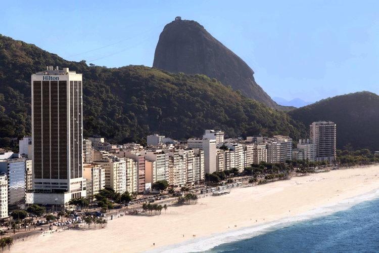 Hilton Rio de Janeiro Copacabana Hotel Opens - Aerial View