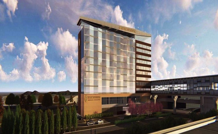 Rendering of the InterContinental Minneapolis-St. Paul Airport Hotel