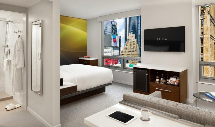 Suite at the LUMA Hotel Times Square Opens