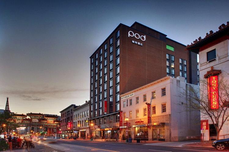 Pod DC Micro-Hotel - Exterior