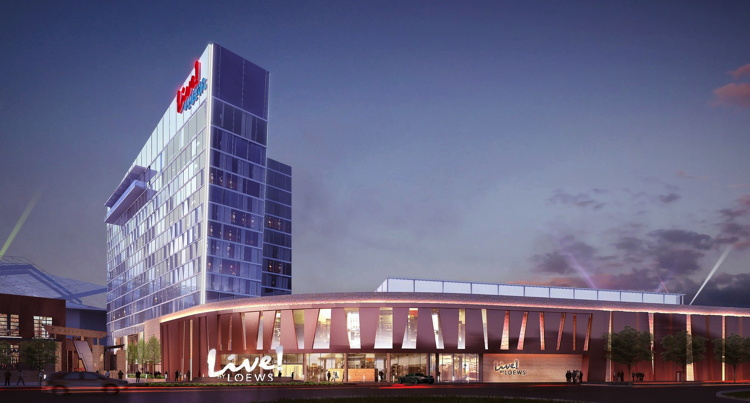 Live! by Loews Hotel Breaks Ground in Arlington, TX