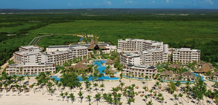 Secrets Cap Cana Resort & Spa in the Dominican Republic - Aerial View