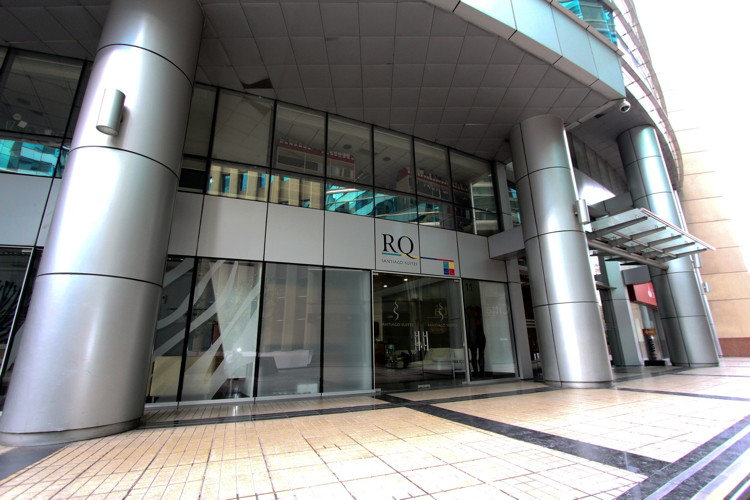 RQ Grupo Hotelero - Santiago Suites - Entrance