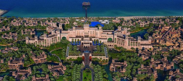 Jumeirah Al Qasr - Aerial View
