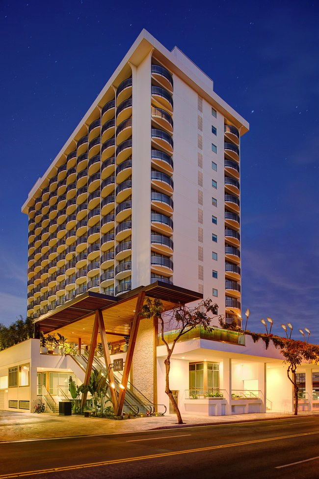 The Laylow Hotel in Hawaii - Exterior