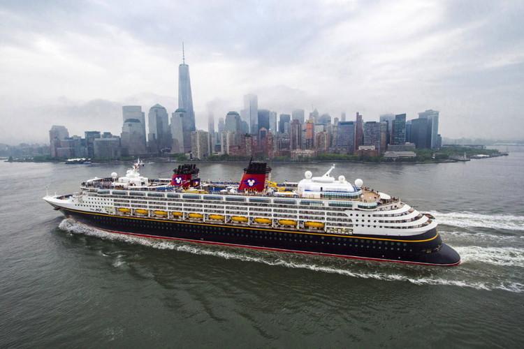 A Disney Cruise Line ship