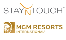 stayntouch and mgm logos
