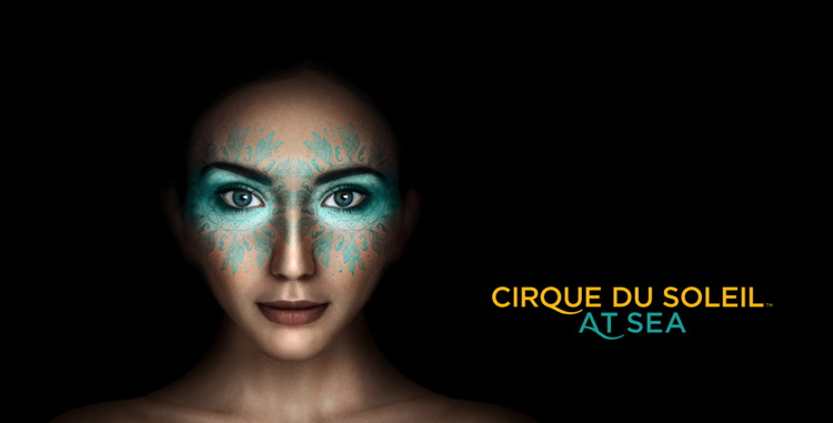 Promotional image for Cirque du Soleil at Sea