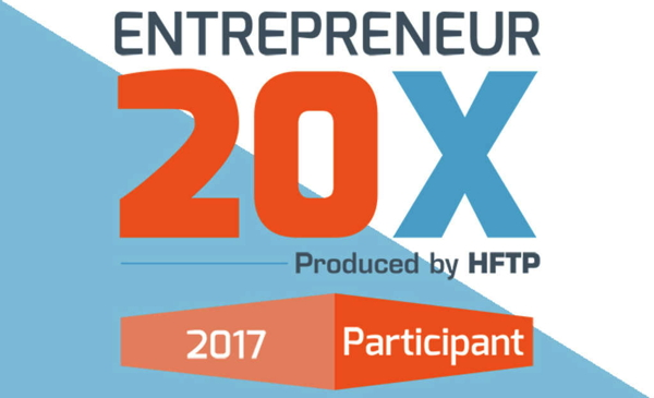 HFTP's Entrepreneur 20X logo