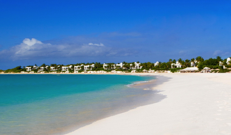 Cap Juluca Resort in Anguilla - View from beach