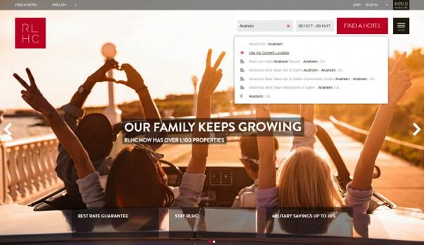 RLHC Website - Screenshot