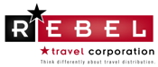 REBEL Travel Corporation logo