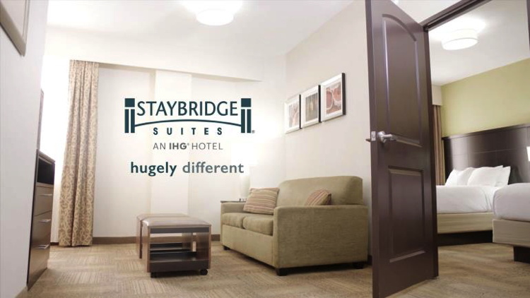 Image from new Staybridge Suites Campaign