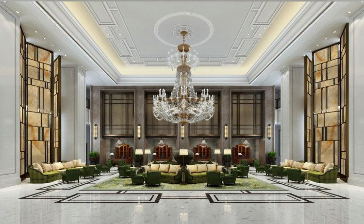The St. Regis Shanghai Jingan Hotel - Lobby