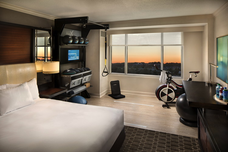 Hilton Launches In-Room Wellness Guestroom