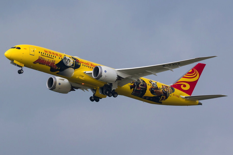 Hainan Airlines Unveils Third Kung Fu Panda-themed Plane
