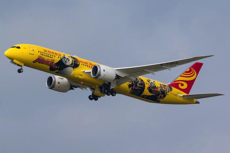 Hainan Airlines Unveils Third Kung Fu Panda-themed Plane